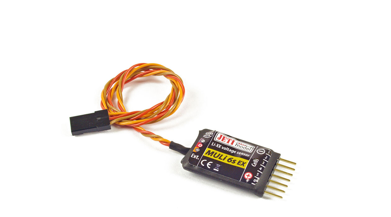 Jeti Telemetry 6S Individual Cell Voltage Sensor